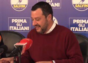 Ristoranti, Matteo Salvini