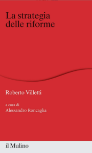 Villetti, La copertina del libro di Roberto Villetti