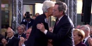 AstraZeneca, Cristine Lagarde e Mario Draghi