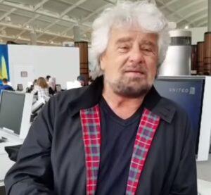 Conte sparito, Beppe Grillo