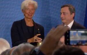 Capitalismo buono, Cristine Lagarde e Mario Draghi
