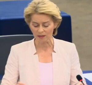 Draghi sgomita, Ursula von der Leyen