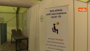 Tachipirina, Sala di attesa post vaccinazione Covid-19
