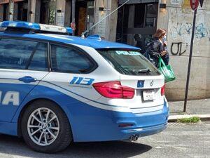 Auto estere, Un'auto della polizia