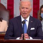 ceto medio, Joe Biden parla al Congresso USA