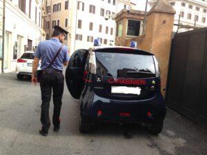 Auto estere, Un'auto dei carabinieri