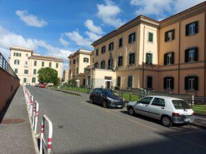 Febbre da vaccino, Padiglioni dell'Ospedale San Camillo Forlanini