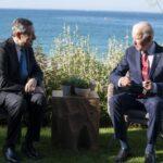 G7, Faccia a faccia Biden-Draghi al G7 in Cornovaglia