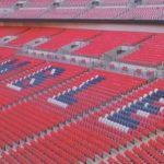 Wembley, Gli spalti dello stadio di Wembley