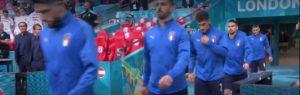 Mancini, L'Italia entra in campo contro l'Austria