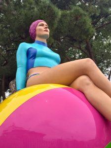 Carole Feuerman, Una scultura di Carole A. Feuerman