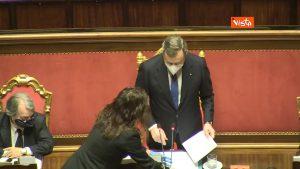 Prescrizione, Mario Draghi al Senato