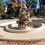Piazza Vittorio, la fontana oggi