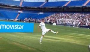Real Madrid, Theo Hernandez palleggia