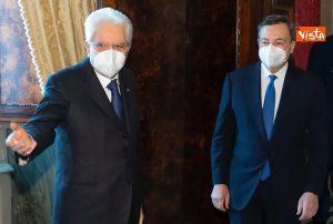 Repubblica presidenziale, Sergio Mattarella e Mario Draghi