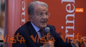 Prodi, Romano Prodi presenta il suo libro