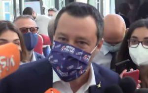 Estensione del Green pass, Matteo Salvini