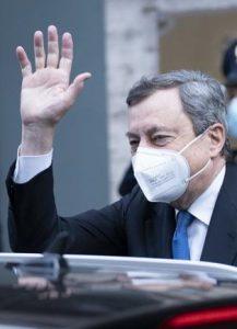 Carlo Calenda, Mario Draghi
