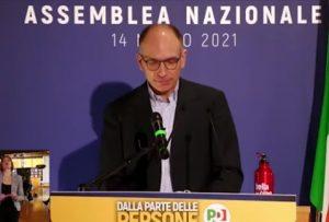 Amministrative del 3 e 4 ottobre, Enrico Letta
