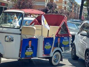 Carlo Calenda, Furgoncini elettorali di Carlo Calenda