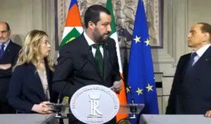 amministrative del 3 e 4 ottobre, Meloni, Salvini e Berlusconi